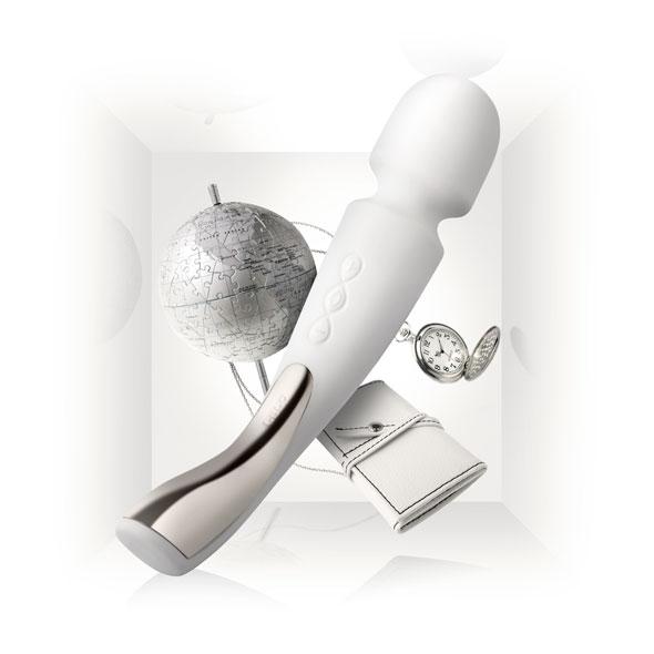 LELO - Smart WAND Masszírozó MEDIUM IVORY - Dirtytalk.hu - Premium Szexshop - SEX - Exclusive as f!ck!
