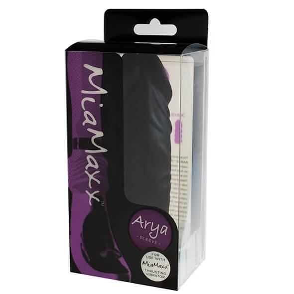 MIAMAXX - ARYA SLEEVE PENIS BLACK - Lökővibrátor Fej - Dirtytalk.hu - Premium Szexshop - Exclusive as f!ck!